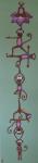 """Chakra Monkeys"" Kids yogArt 48"" x 12"" (sold)"