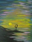 """""""Moonlight Dancer"""" 20"""" x 16"""" (sold)"""