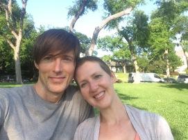Travis & I at Turtle Creek