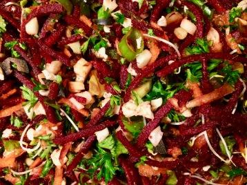 Organic Raw Mediterranean Beet Salad