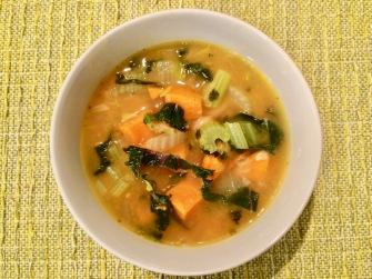Organic Adobe Sweet Potato & Kale Soup