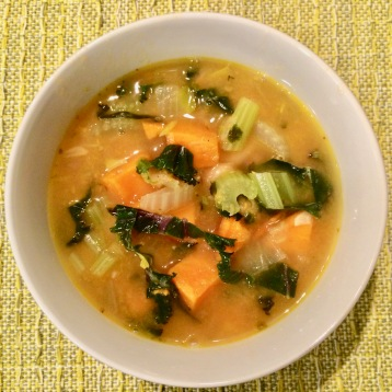 Organic Adobe Sweet Potato & Kale Soup