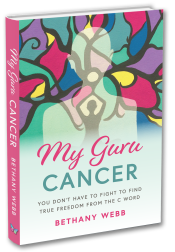 My Guru Cancer Book Cover 3D