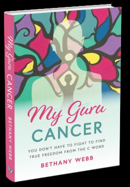 My Guru Cancer Book Cover 3D